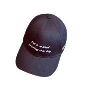 Unisex Baseball Cap Jaminy Letter Napback Hip Hop Flat Hat