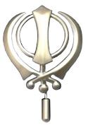 Khanda Turban Brooch Pin