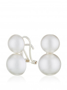 Cordoba Jewels | Earrings in 925 Sterling Silver. Design You And Me Pearls