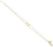 Gold Bracelet Ladies Gold Bracelet Necklace Pendant Teddy Bear 585 14-Carat Passion