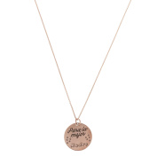 Cordoba Jewels | Choker in 925 Sterling Silver Rose Gold Vermeil. Design for the Best Mother Pink Gold
