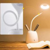 ZT Energy Saving Led Pen Lamp Reading Students Reading Lamp Dormitory Bedroom Bedside Lamp