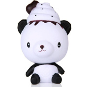 Jimmkey Cute Exquisite Fun Q Poo Panda Scented Squishy Charm Slow Rising 13cm Simulation Toy panda soft toy online Cartoon Doll Cream Scented Decompression Toys Soft Toys Stuffed Animals Soft Toys Onl