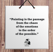 Balthus Famous Quote Home Decoration Birthday Gift Idea Awesome Tile Decoration