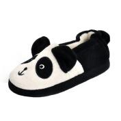 Matt Keely Toddler Boys Girls Cute Cartoon Panda Slippers Winter Warm Plush Home Shoes