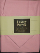 Extra Deep 33cm Super Single 3FT6' x 1.8m Bed Pink Fitted Sheet+ Free Piillowcase
