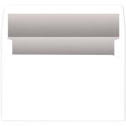 Silver Foil-Lined White A9 Env