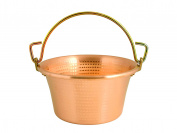 Brand Lar Copper Pot With Handle D. 26 cm Cooking Pot Shackle Polenta