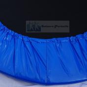 Fitness Trampoline Rebounder Skirt 90cm (Spring Cover) Blue