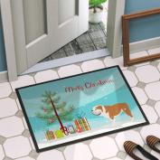 Caroline's Treasures English Bulldog Door Mat