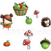 Stamping Bella Rubber Stamp - LB Fall Fruit