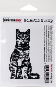 Darkroom Door Cling Stamp 7.6cm x 5.1cm -Sitting Cat
