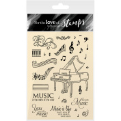 Hunkydory For The Love Of Stamps A6-Say It With Music