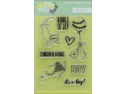 Photo Play About A Little Boy Polymer Stamp