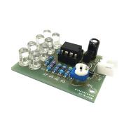 Sharplace LM358 12V Breathe Light 5mm 8 LED Blue Flashing Lamp Parts Electronic DIY Module Chip 11V-13V