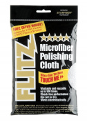 MC200 Thick 'n Thirsty 41cm x 41cm Silver Microfiber Polishing Cloth 41cm x 41cm , (Single Unit), Ship from USA,Brand Flitz
