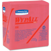 Wypall WypAll X80 Folded Red Wipers