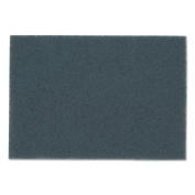 3M Blue Cleaner Pads 5300, 46cm x 30cm , Blue, 5/Carton
