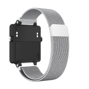 For Garmin Vivoactive Acetate Replacement Metal Bands,Sansee Milanese Stainless Steel Watch Band Strap Bracelet For Garmin Vivoactive Acetate