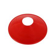 SAUCER FIELD CONE 18cm RED VINYL