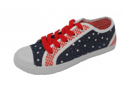 Carcassi Girl's Stars Canvas Shoes