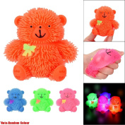 Glitter Puffer Balls Squidgy Toy, Indexp Cute Elastic Anti Stress Relief Squeeze Fun Doll Gift for ADHD