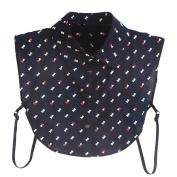 Yalatan Women Detachable Shirt Collars accessories Polka Dot Shirt Fake Collar