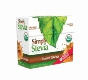 Stevia International Caramel Delicioso Stevia Powder, 40 Ct
