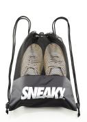Sneaky Shoe Bag - Trainer Boot Shoe Travel Dust Bag Holdall Drawstring