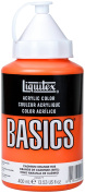 Liquitex BASICS Acrylic Paint 400ml-Cadmium Orange Hue