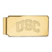 LogoArt 14k Yellow Gold University of Southern California Money Clip 4Y040USC