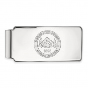 Montana State Money Clip Crest