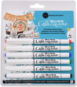 Manuscript Crafter Callicreative Markers 6/Pkg-Assorted