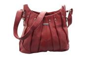 On Trend Ladies Leather Handbag Bag Latest Style - Black, Brown, Tan or Red