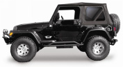 Rampage 68735 Complete Replacement Soft Top with Frame and Hardware