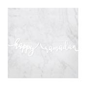 modernEID Acrylic Happy Ramadan Banner, 1 Ct