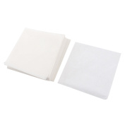 Unique Bargains 500pcs Lightweight Smooth Square Shaped Weighing Paper 100mmx100mm
