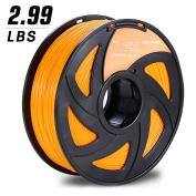 3D MARS Orange PLA 1.75mm 3D Printing Filament,3D Printer Filament,Dimensional Accuracy +/- 0.05mm,1.2kg Spool for Most 3D Printer & 3D Printing Pen
