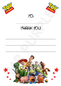 ToyStory Thank You For Coming Party Cards - Portrait Design - Party Supplies / Accessories (Pack of 12 A6 Thank You Cards)
