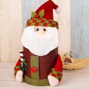 Espeedy Christmas Snowman Santa Candy Storage Box Storage Bags Festive Decoration box