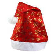 New Christmas Holiday Xmas Party Cap For Santa Claus Gifts Nonwoven bean Hat