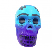 Toamen Newest Exquisite Fun Galaxy Skull Scented Squishy Charm Slow Rising Toy for Stress Relief and Time Killing, Cell Phone Pendant Strap Gift