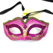 Lenhart Venetian Mask, Coxeer Princess Dance Mask Metal Butterfly Mask for Halloween Masquerade Mask for Halloween