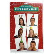 Make Your Own Christmas Party Hats - Pack of 6
