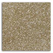 Mademoiselle Toga MEG822 Glitter Iron-On Flex Fabric Beige 21 x 30.5 x 0.1 cm