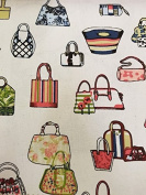 Handbag Print Canvas Material For Arts Craft Fabric Textile Bags Quality Upholstery