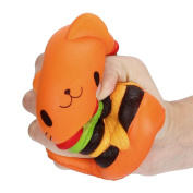 Youngnet Cat Hamburger Squishy Slow Rsing Toy Party Favours
