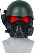 Halloween Helmet Game Cosplay Costume Adult Men Riot Armour Head Helmet Fancy Dress Merchandise Prop