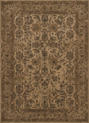 Traditional Stanley Collection Area Rug in Beige-Beige and Oval, Rectangle, Round, Runner Shape