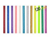 120 Pack Hot Melt Glue Sticks for Glue Gun DIY Art Craft 7mm